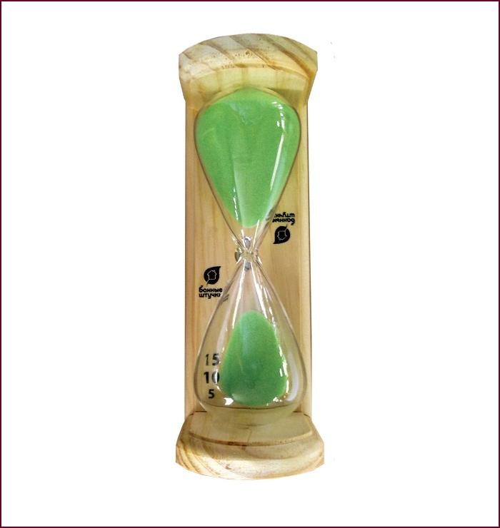 Часы песочнык Люкс