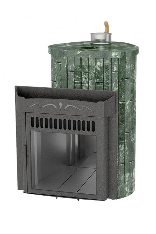 Ламель оптима с закрытой каменкой Змеевик наборный до 23 куб.м.